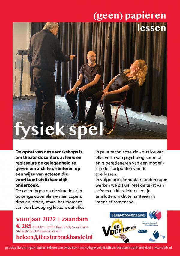 2022_Flyer workshop fysiek spel_Frans Strijards_2